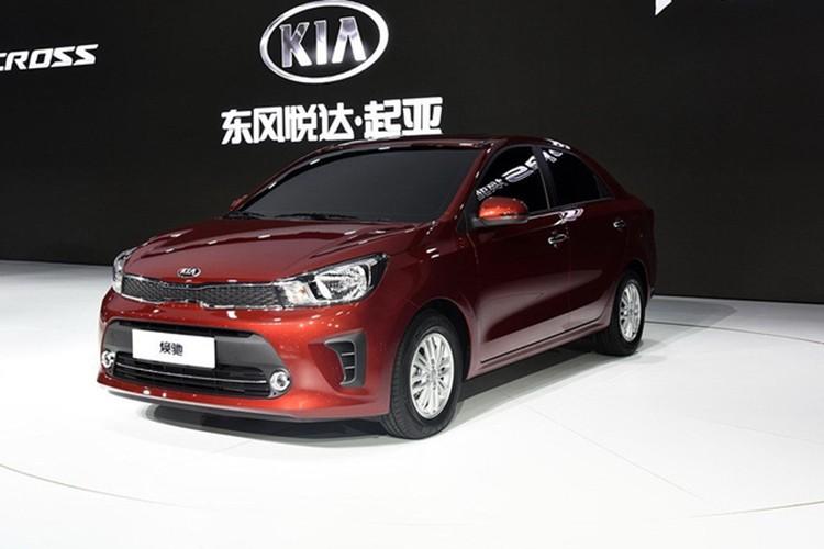Kia Pegas 2017 - xe sedan gia re chi tu 2613 trieu dong
