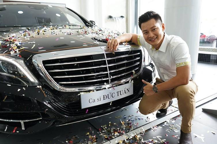 "Ca si Duc Tuan chi 4 ty ""tau"" Mercedes-Benz S400L"