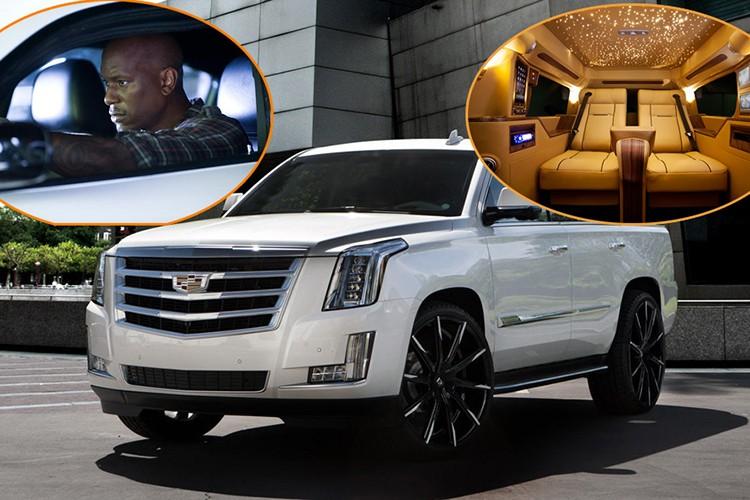 "Soi ""chuyen co mat dat"" Cadillac cua sao Fast & Furious"