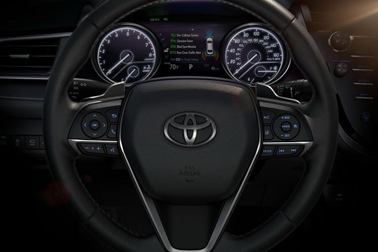 "Toyota Camry Hybrid 2018 ""uong xang"" sieu tiet kiem-Hinh-8"