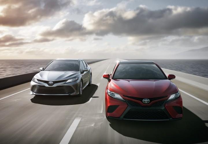 Toyota Camry phien ban 2018 sap cap ben Viet Nam?-Hinh-11