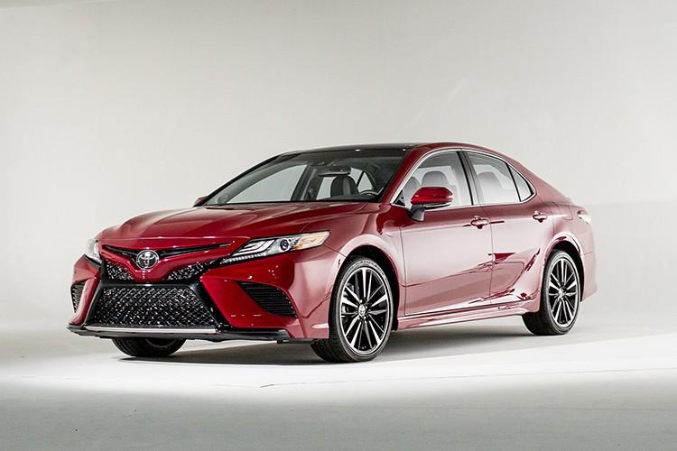 Toyota Camry phien ban 2018 sap cap ben Viet Nam?-Hinh-12