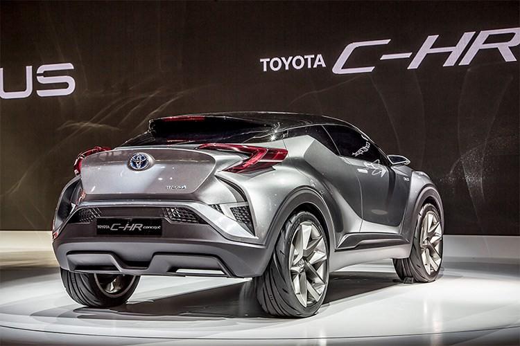 """Xe SUV co nho Toyota C-HR 2017 """"chay hang"""" tai Nhat Ban-Hinh-4"""
