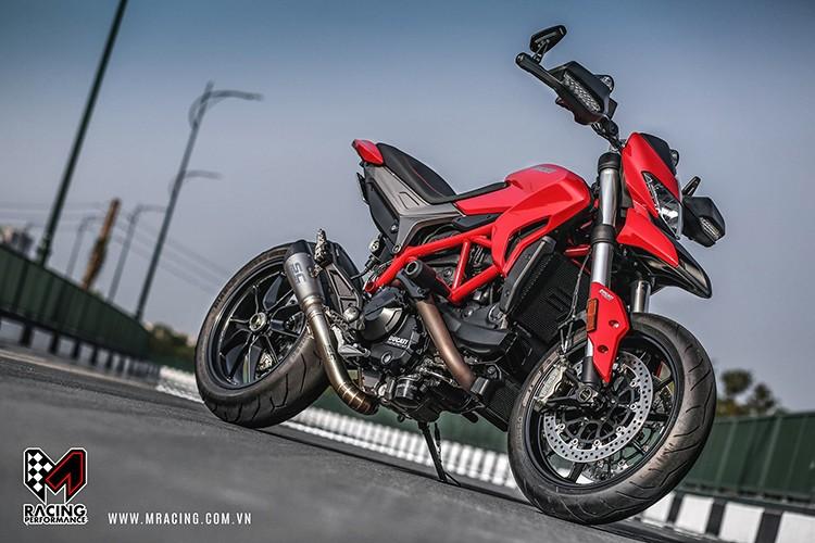 Moto Ducati Hypermotard moi gia 487 trieu tai Sai Gon