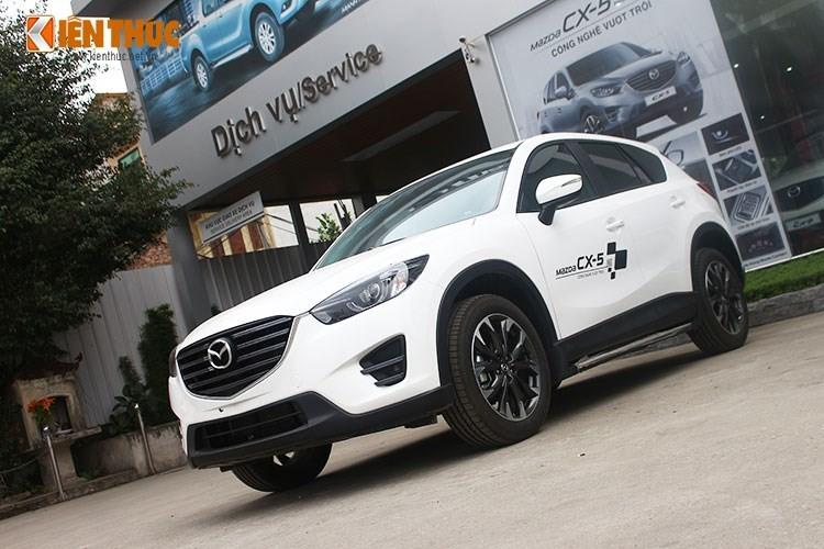 "Mazda CX-5 giam gia ""soc"" con 819 trieu tai Viet Nam"