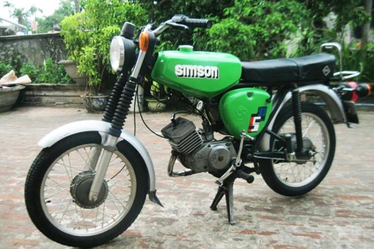 """Soi """"xe no"""" mo kich Simson S51 cua dan choi Viet"""