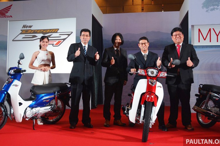 "Honda Dream 2017 ra mat tai Malaysia ""chot gia"" 27 trieu"