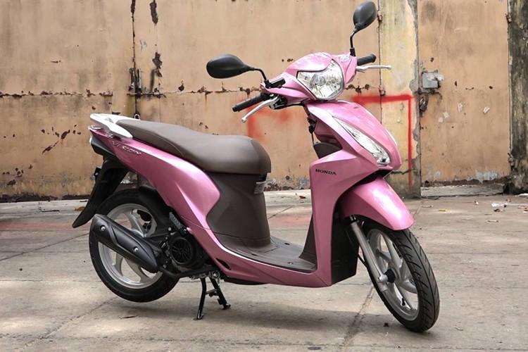 Honda Vision - xe may tay ga ban chay nhat Viet Nam