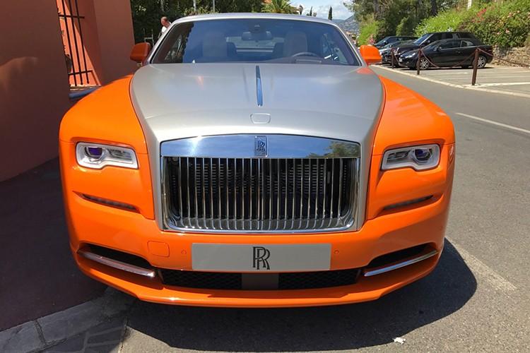 "Rolls-Royce Dawn ""khoac ao cam"" doc nhat The gioi-Hinh-4"