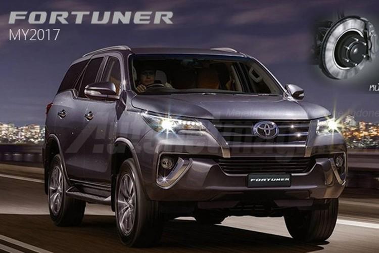 """Toyota Fortuner 2017 moi """"nha hang"""" tai Thai Lan"""