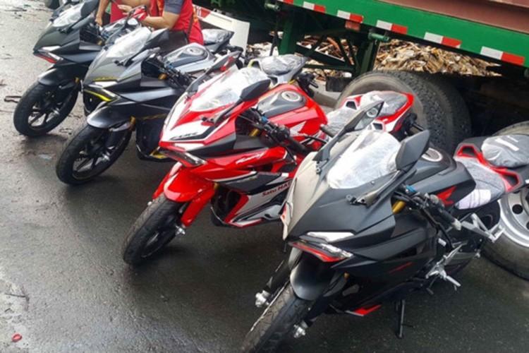 """""""Dap thung"""" Honda CBR250RR 2017 hon 200 trieu tai VN"""
