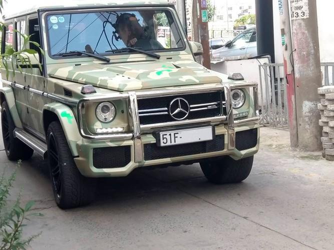 """Dan choi Viet """"thay ao"""" cho Mercedes-Benz G63 hon 10 ty"""