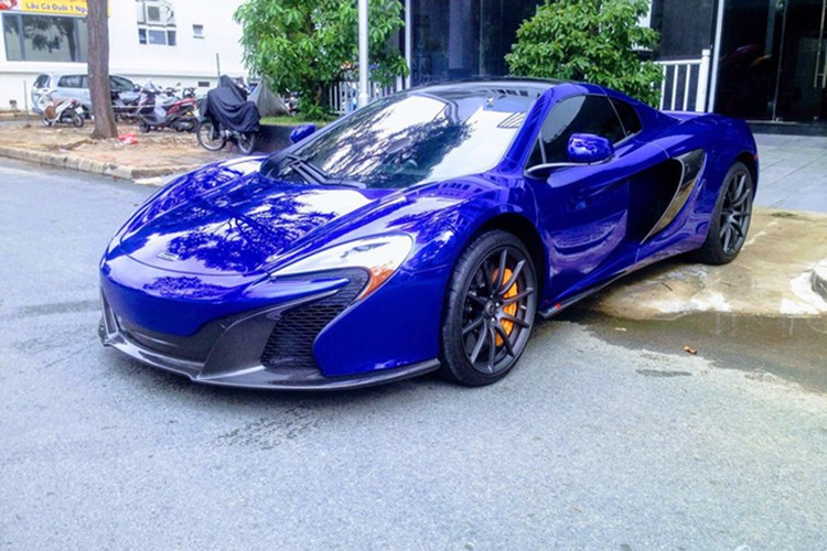 """Cuong Do la """"cuoi"""" sieu xe McLaren 16 ty cua Minh nhua"""