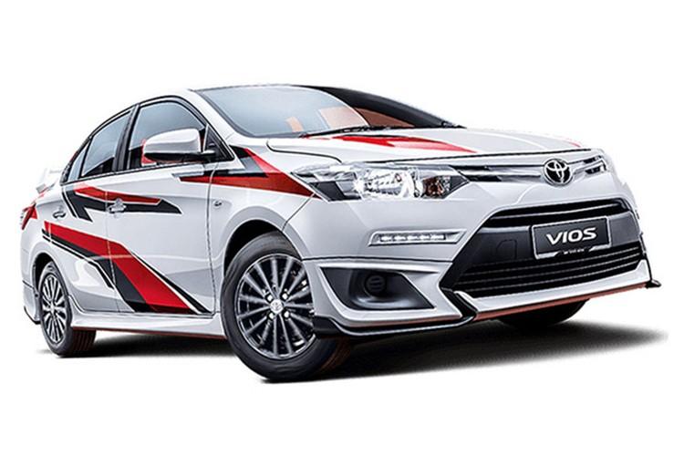 """Toyota Vios phien ban """"xe dua"""" gia 452 trieu dong-Hinh-10"""