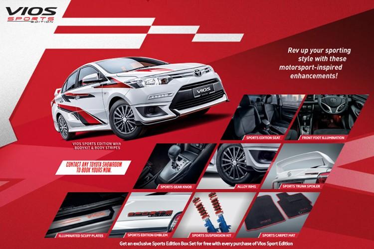 """Toyota Vios phien ban """"xe dua"""" gia 452 trieu dong-Hinh-6"""