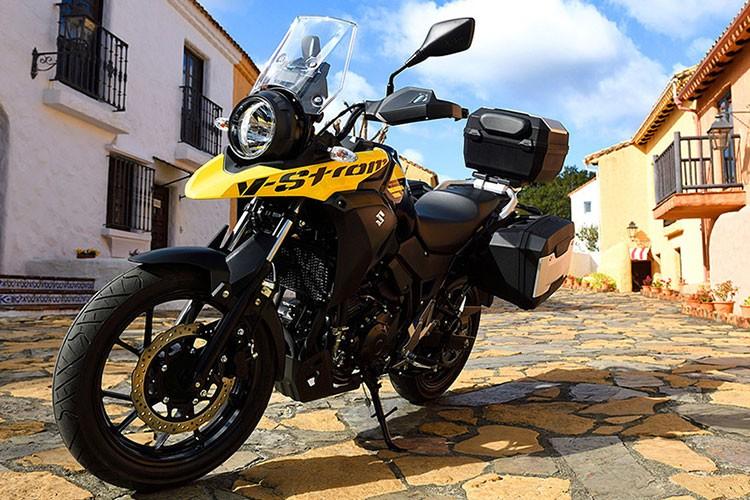 "Xe moto Suzuki V-Strom 250 ""chot gia"" 136 trieu dong-Hinh-9"
