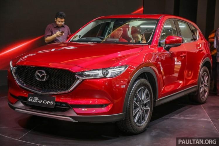 Mazda CX-5 the he 2017 vua ra mat gia 895 trieu dong