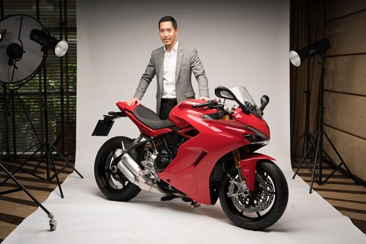 """Ducati SuperSport 2017 """"chot gia"""" 382 trieu tai Thai Lan-Hinh-3"""
