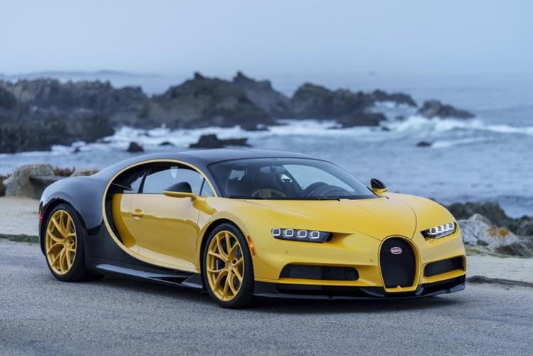 """Tan vuong toc do"" Bugatti Chiron 68 ty dau tien den My"
