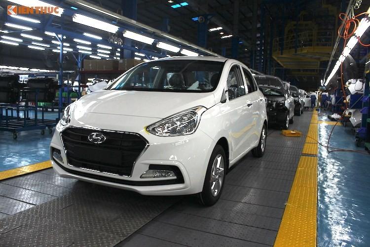 Xe oto Hyundai Grand i10 ban chay gap doi Kia Morning