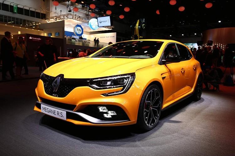 """Renault Megane RS moi, """"doi thu"""" cua Ford Focus RS"""