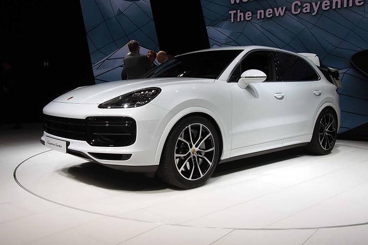 Cayenne Turbo 2018 - SUV manh nhat Porsche gia 3,78 ty-Hinh-2