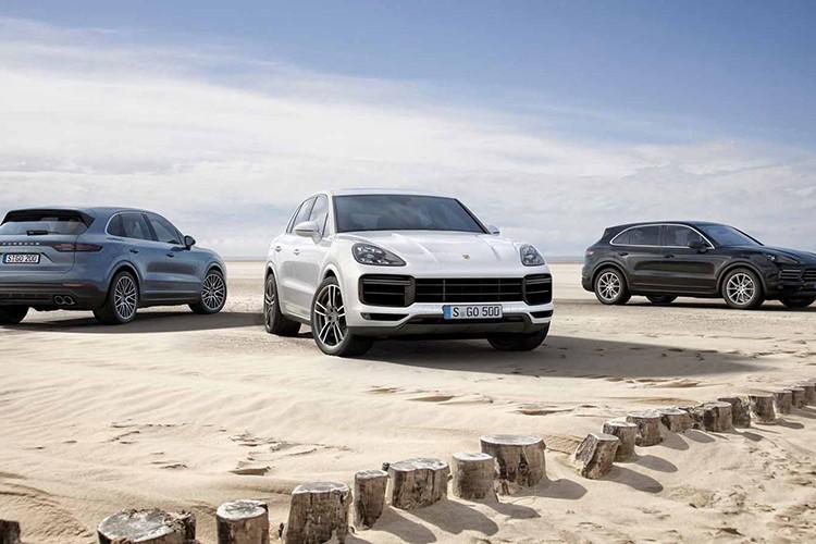 Cayenne Turbo 2018 - SUV manh nhat Porsche gia 3,78 ty-Hinh-9