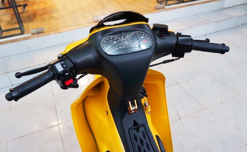 """Xe may Yamaha 125ZR """"thet gia"""" 450 trieu tai Sai Gon-Hinh-3"""