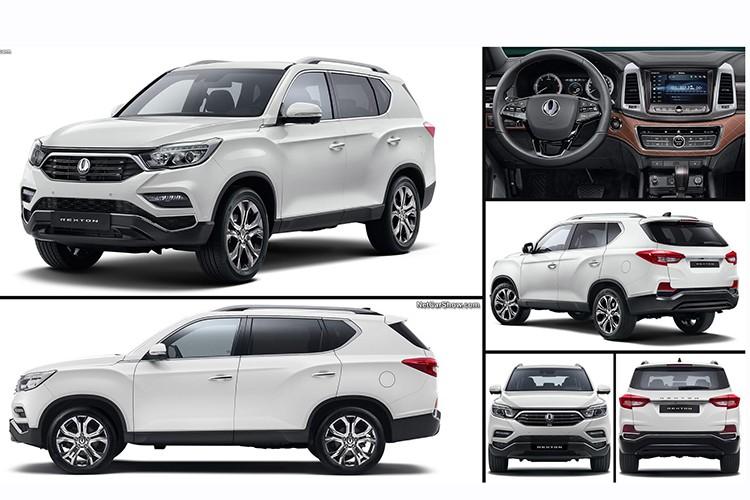 "SsangYong Rexton 2018 sap ve Viet Nam ""dau"" Toyota Fortuner-Hinh-13"