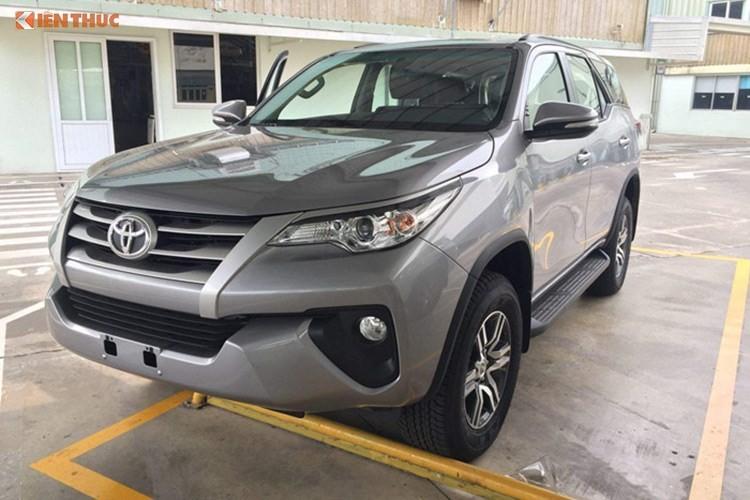 Toyota Fortuner may dau gia hon 1 ty sap ra mat tai VN