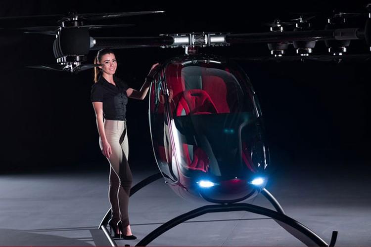 Can canh may bay khong nguoi lai Passenger Drone