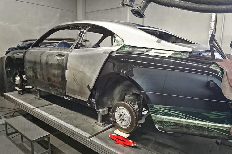 Sieu xe sang Bentley Mulsanne tien ty do coupe hai cua-Hinh-2