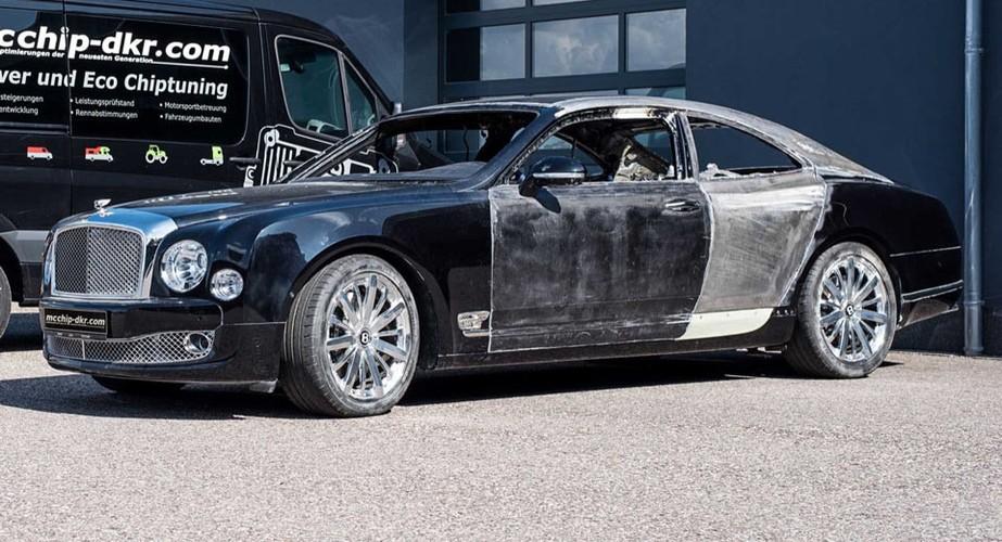 Sieu xe sang Bentley Mulsanne tien ty do coupe hai cua