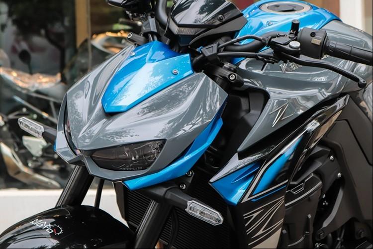 Kawasaki Z1000 2018 tai Viet Nam gia gan 400 trieu dong-Hinh-2