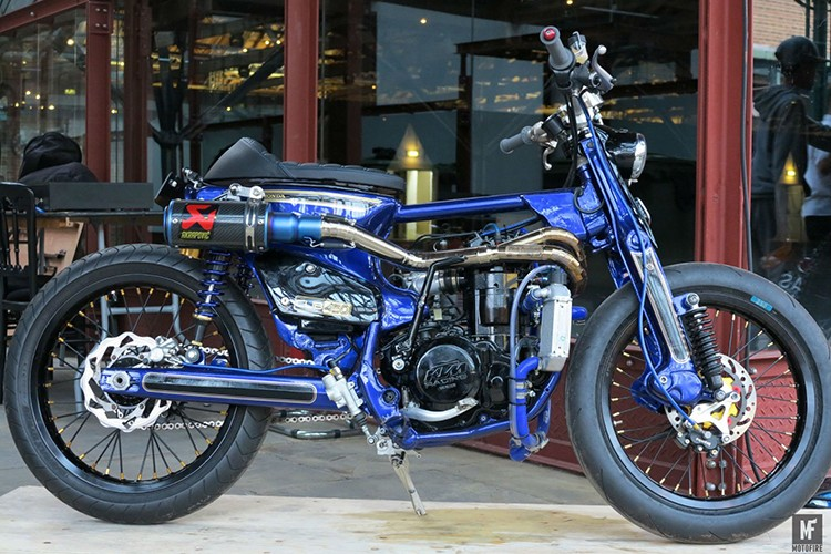 Sieu Cub Honda do may 450cc manh nhat The gioi-Hinh-2