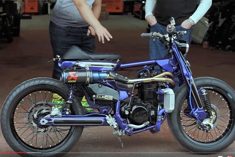 Sieu Cub Honda do may 450cc manh nhat The gioi-Hinh-4