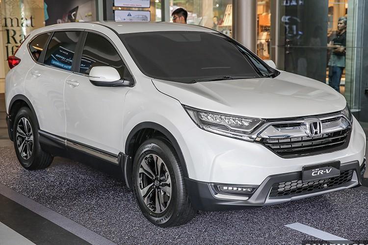 "Honda CR-V 2017 the he moi ""chay hang"" tai Malaysia"