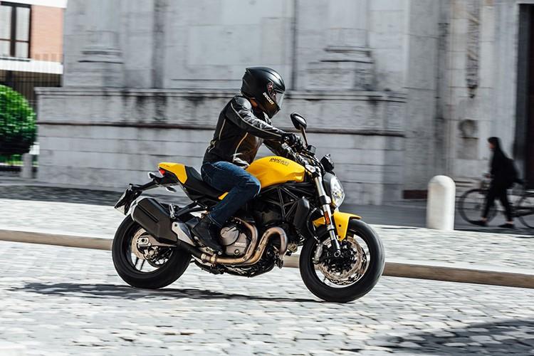 """""""Quai vat"""" Ducati Monster 821 ban 2018 lo dien-Hinh-10"""