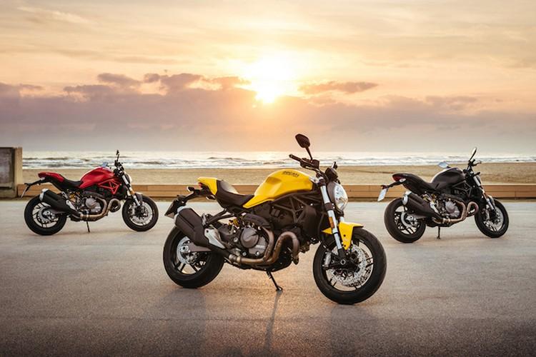 """""""Quai vat"""" Ducati Monster 821 ban 2018 lo dien"""
