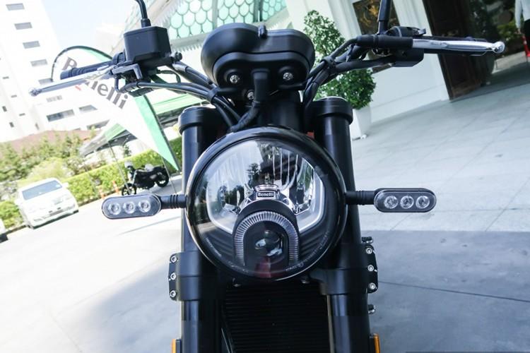 """Moto Benelli Leoncino Scrambler """"chot gia"""" 160 trieu dong-Hinh-3"""