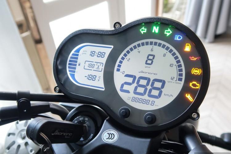"""Moto Benelli Leoncino Scrambler """"chot gia"""" 160 trieu dong-Hinh-5"""