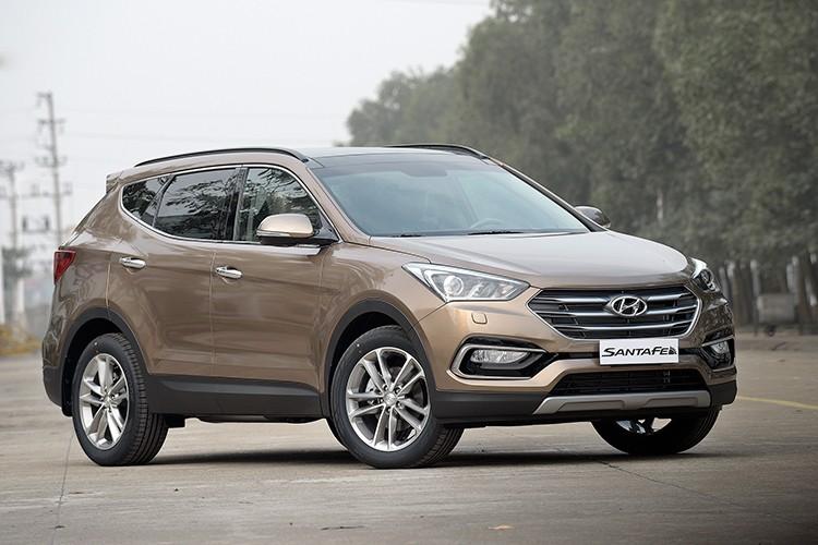 Giam 230 trieu, Hyundai SantaFe la xe 7 cho re nhat VN-Hinh-12