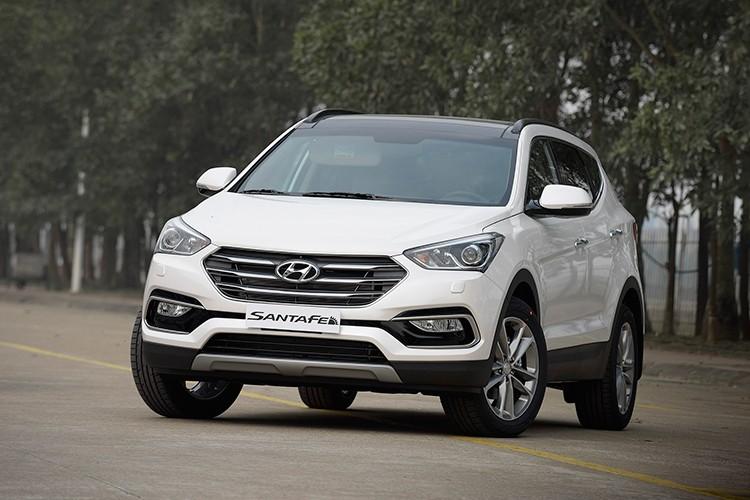 Giam 230 trieu, Hyundai SantaFe la xe 7 cho re nhat VN-Hinh-2