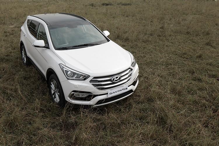 Giam 230 trieu, Hyundai SantaFe la xe 7 cho re nhat VN-Hinh-3