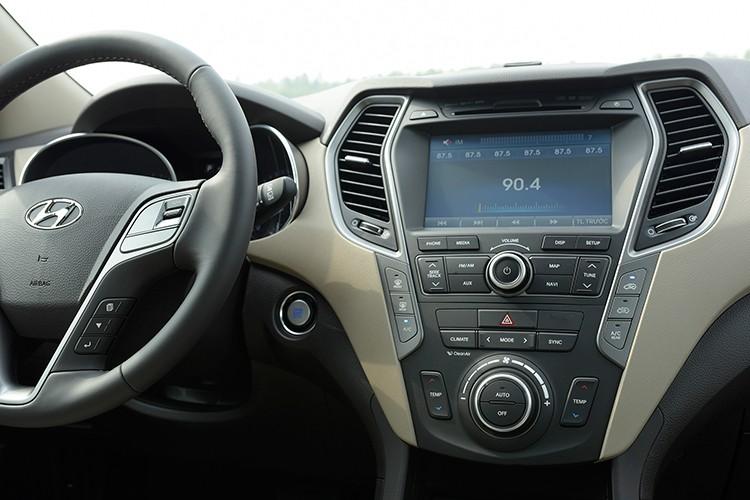 Giam 230 trieu, Hyundai SantaFe la xe 7 cho re nhat VN-Hinh-7