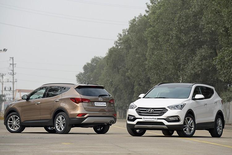 Giam 230 trieu, Hyundai SantaFe la xe 7 cho re nhat VN