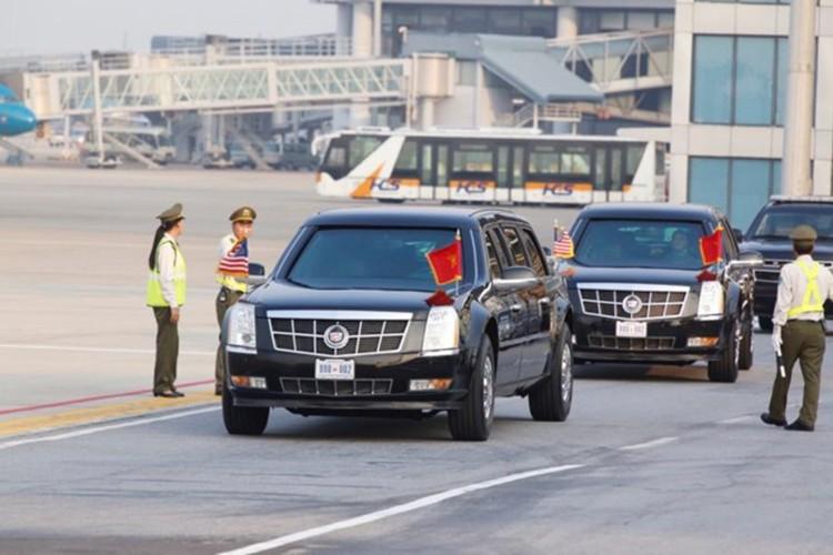 Sieu xe Cadillac One don Tong thong Donald Trump tai Ha Noi-Hinh-7