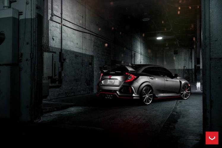 "Honda Civic Type R do ""dan chan"" Vossen sieu an tuong-Hinh-4"