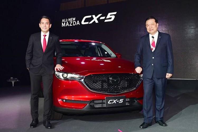 Ra mat Mazda CX-5 2018 gia 873 trieu tai Thai Lan-Hinh-2