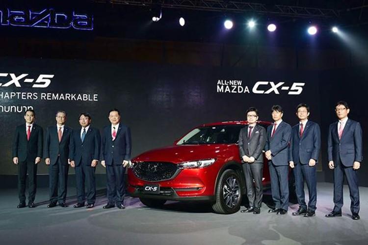 Ra mat Mazda CX-5 2018 gia 873 trieu tai Thai Lan